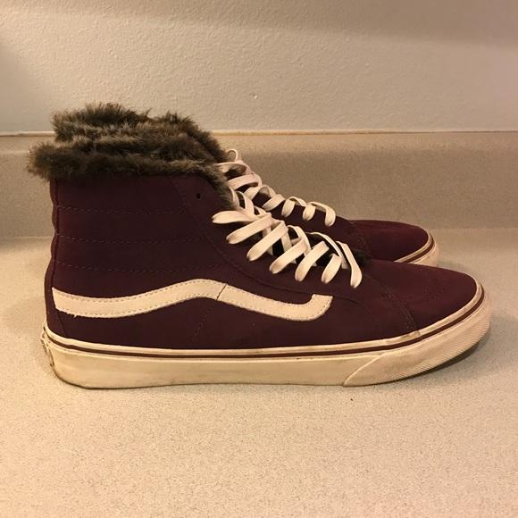 48189c32c2 Vans Fur Lined Sk8-Hi Slim. M 5ac14bd6caab443986d659d7